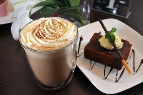 Kaffee dessert kuchen bild