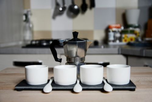 espressokocher bild neu