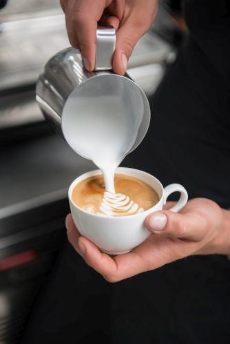 Barista Kaffee Bild