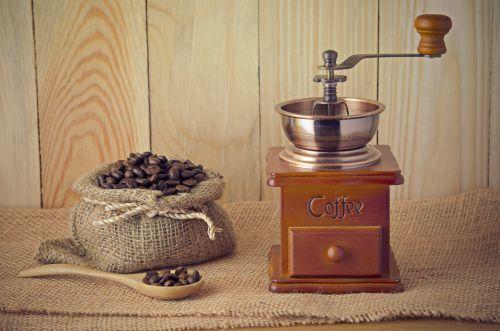 Kaffeemühle bild