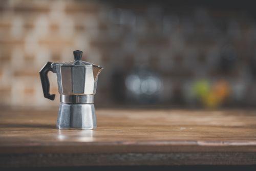 kaffeezubereiter bild sehr sehr neu